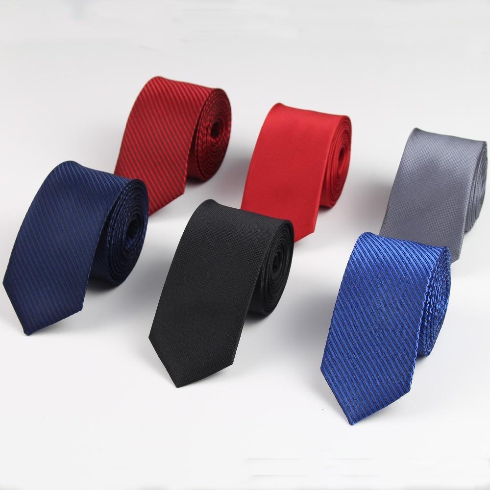 5cm Mens Business Tie Formal Striped Jacquard Wedding Necktie Narrow Classic Corbata Neckwear Gravata