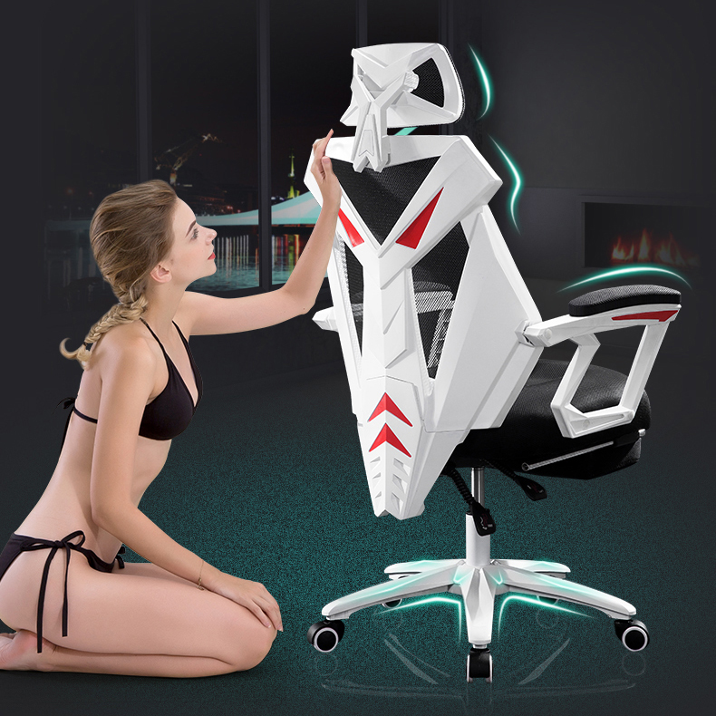 unique design Computer Chair Household Office Chair Mesh Seat Lounger Chair Game Chair free shipping 240337 ergonomic chair quality pu wheel household office chair computer chair 3d thick cushion high breathable mesh