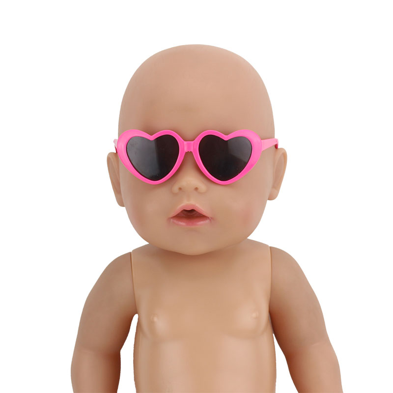 Glasses Fit For 43cm   Dolls Baby Reborn Accessories