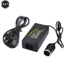 5A 60W Auto Inverter Zigarette Leichter Adapter Buchse Power Converter 220V AC Zu 12V DC für Auto luftpumpe/staubsauger
