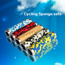 Cycle Zone Brand Lock on Anti Skip Sponge Mountain Bike Bicycle Grips Cycling Handle Bar Camouflage