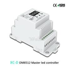 Multi-Pixel RGB/RGB+W/RGB+CCT controller;AC85-265V input;DMX512 signal output;Multi-function DMX512 Master controller