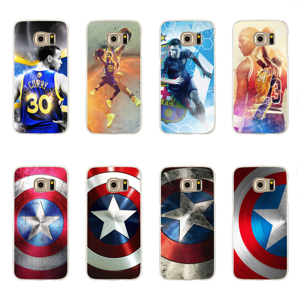 Captain America Shield Hulk Joker Batman Stephen CURRY STARWARS TPU Silicone Cases Galaxy C5 C7 J120 J510 J710 2016 model - Guangzhou MTC Science and Technology store