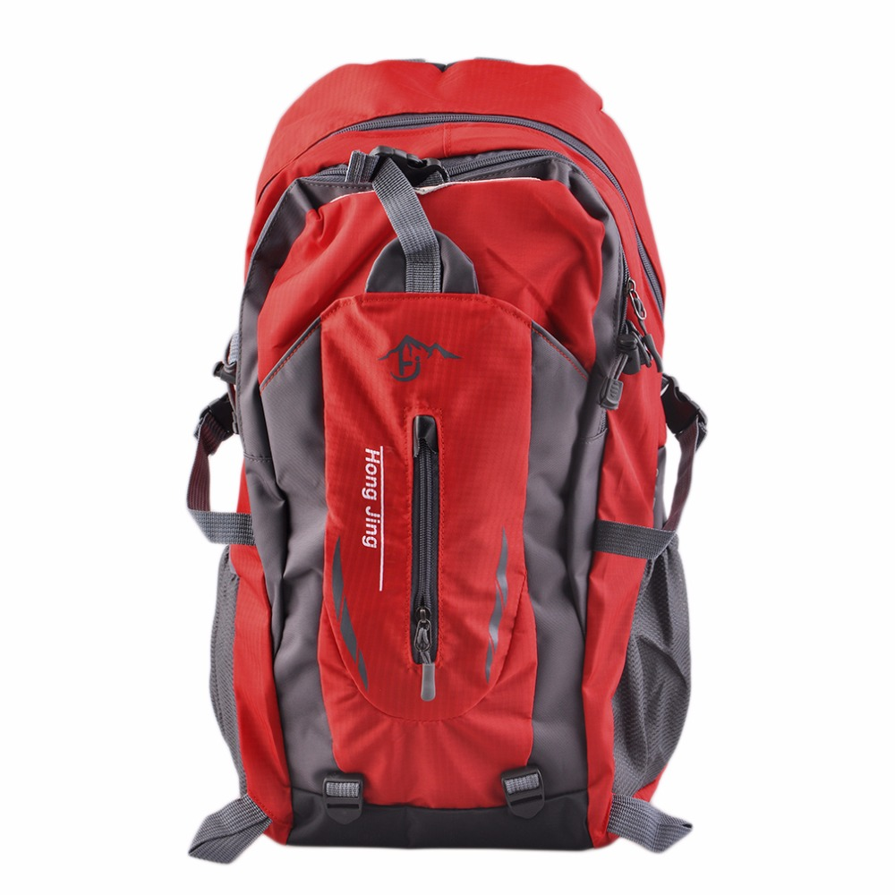 Outdoor Backpack Camping Bag Climbing Rucksack Sports Bags Waterproof Mountaineering Men Women Travel Hiking Cycling Travel actionclub men s multi function camping backpack outdoor sports bag for climbing cycling travel male canvas backpack