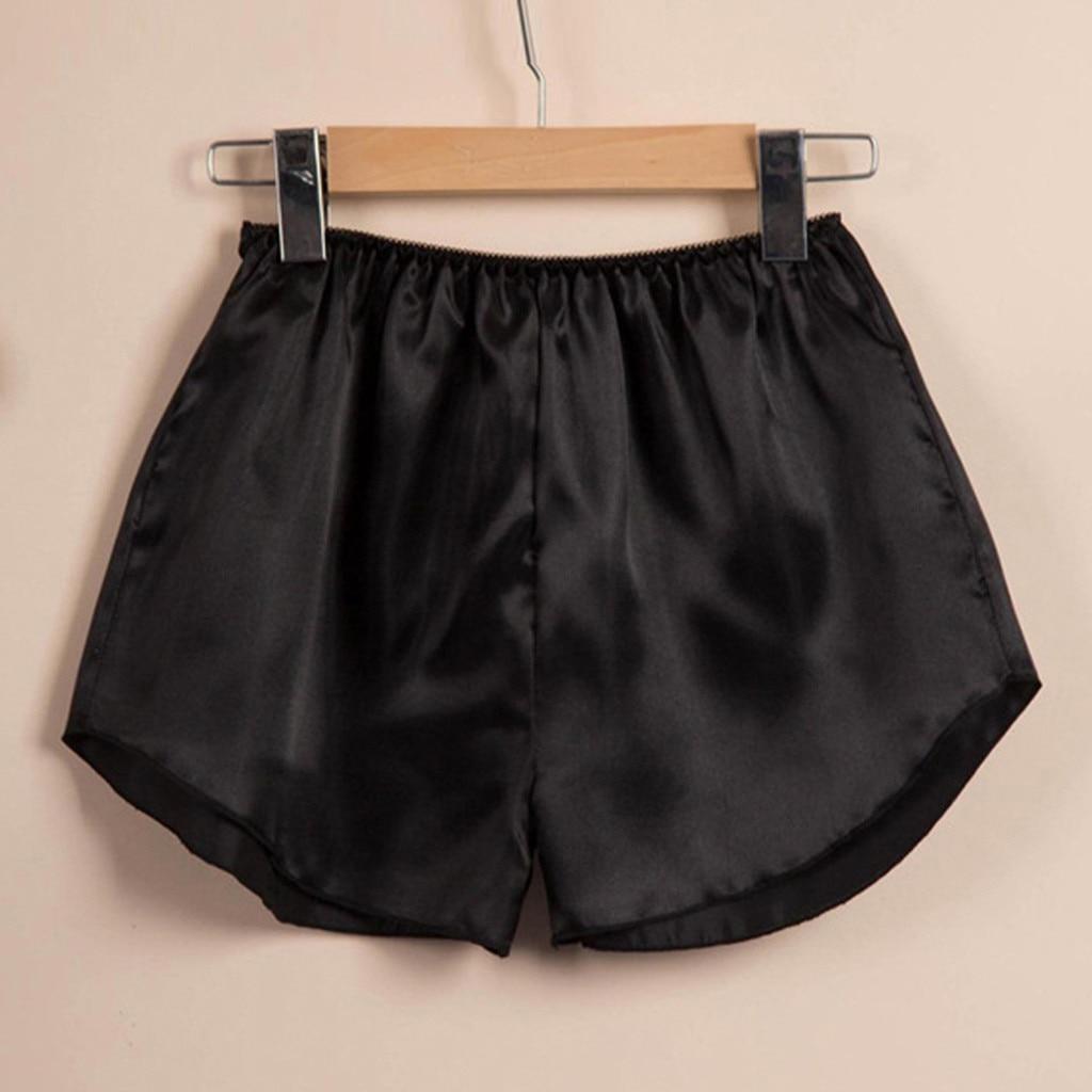 2020 Hot Sale Summer Shorts Sleep Women Bottoms Soft Silk Stain Women Home Pajamas Pants Women Shorts Pyjamas Female Pajamas