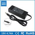 19 v 4.74a 90 w 5.0mm * 3.0mm ac carregador adaptador para samsung 700z5c-s02/s01 q430 q470 q470c 550p7c r718 r710 r780 r728 rf711 rf712