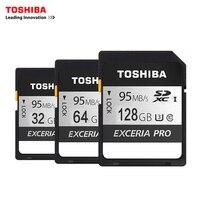 Toshiba Memory Card UHS U3 128GB 95MB S SDXC 64GB SD 4K Card 32GB SDHC Flash