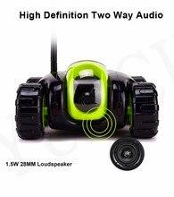 App mini RC Spy Réservoir Sans Fil WiFi IP Caméra Nuage Rover télécommande Robot accueil caméra de sécurité de voiture