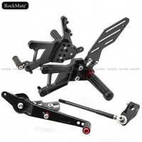 CNC Aluminum Motorcycle Rearset Rear Set Foot Pegs Pedal Footrest For BMW S1000RR 2009 2010 2011 2012 2013 2014 Racing
