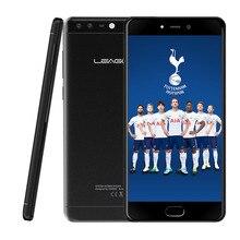 4G Smartphone Leagoo T5c 5.5 Pouce Octa Core 3 GB RAM 32 GB ROM 13.0MP + 2.0MP Double Caméras Arrière D'empreintes Digitales Scanner Mobile Téléphone