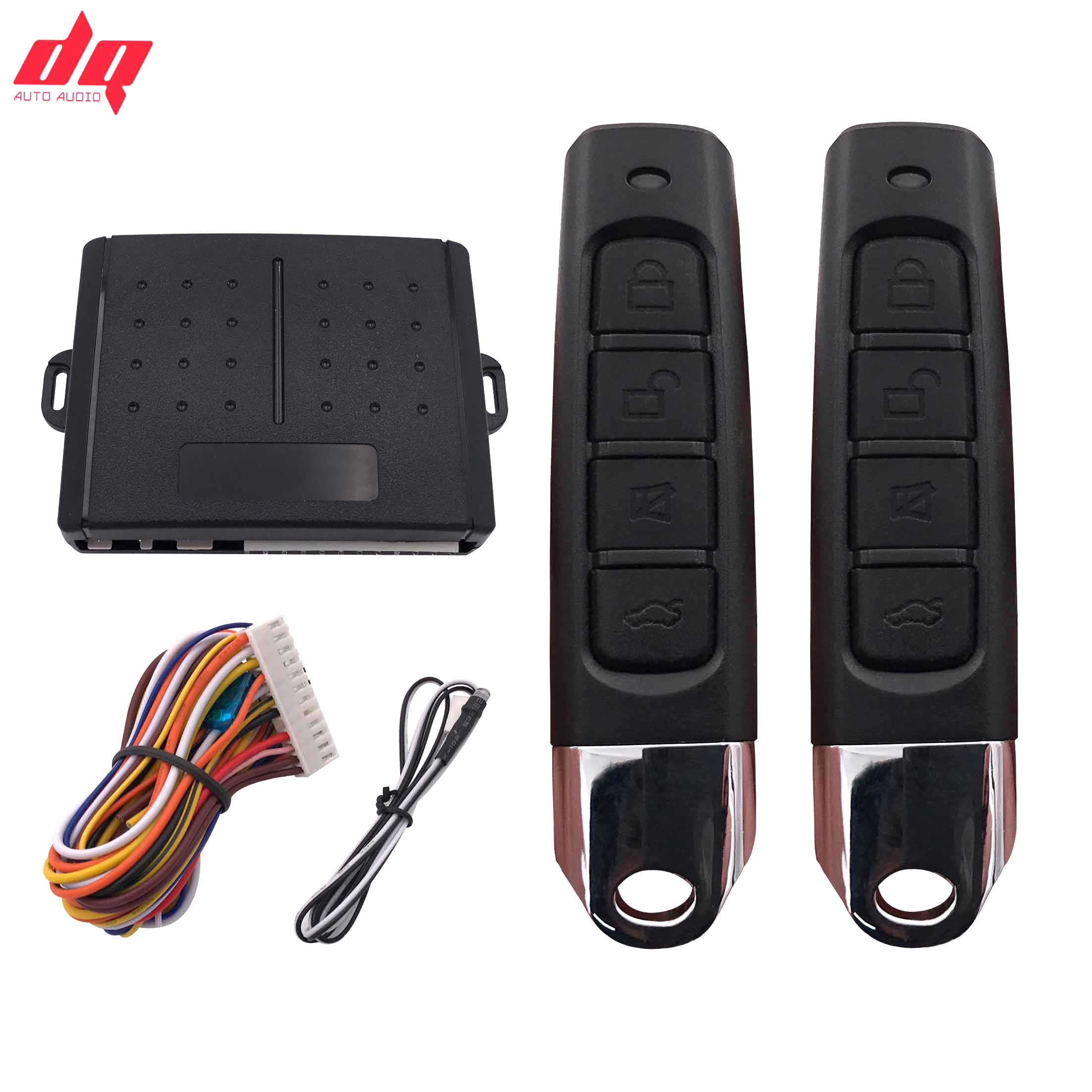 Car Alarm 12+4 Car Auto Remote Central Kit Door Lock Locking System With Key Central Locking with Remote Control