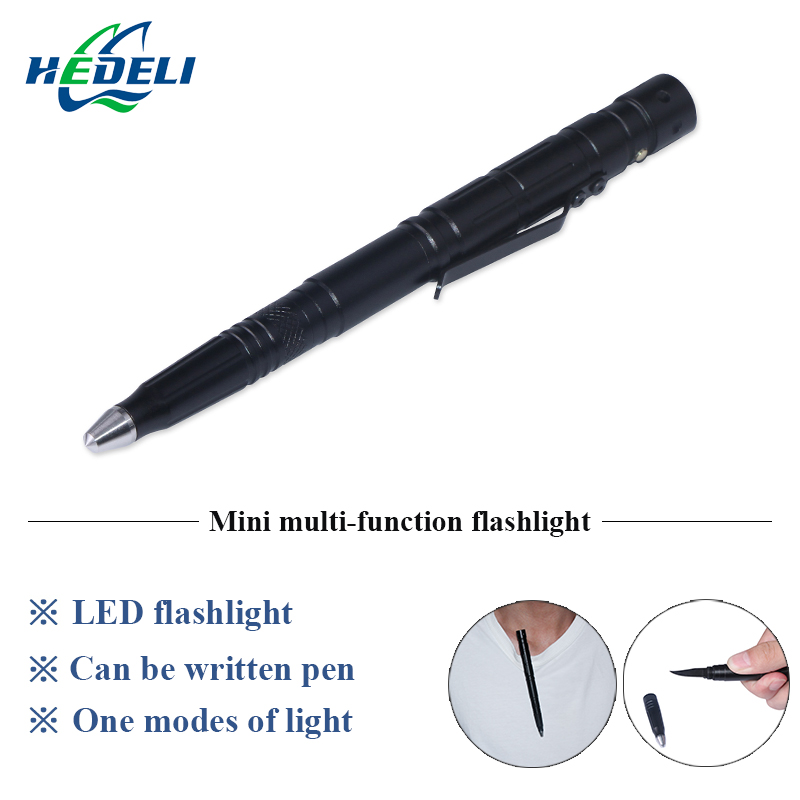 Tactical pen led flashlight self defense Glass Breaker Knife Pens torch lanterna tatica Camping Travel Kits lamp smart home us au wall touch switch white crystal glass panel 1 gang 1 way power light wall touch switch used for led waterproof
