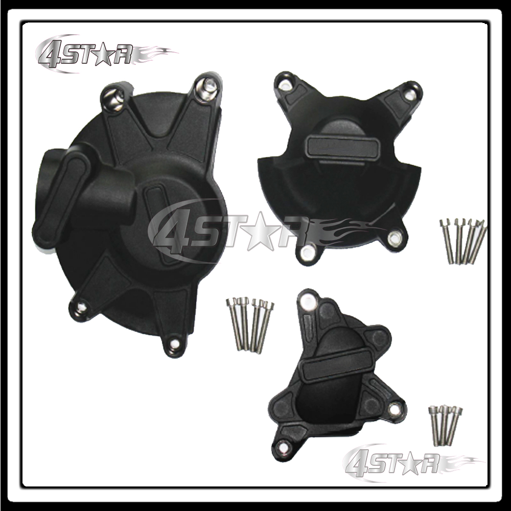 Motorcycle Moto Racing Set Engine Cover Protection Case Kit For YZF1000 YZF R1 2009 2010 2011 2012 2013 2014 jiangdong engine parts for tractor the set of fuel pump repair kit for engine jd495