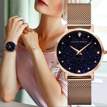 Women Bracelet Watches Luxury Brand Starry Sky Ladies Crystal Wristwatch Rose Gold Stainless Steel Quartz Watch relogio feminino gimto brand luxury crystal women watches rose gold steel clock bracelet ladies quartz watch female wristwatch relogio feminino