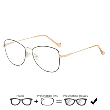 Women Prescription Glasses Vintage Transparent Myopia Computer Spectacles Reading Optical Clear Eyeglasses Men Decorative gafas