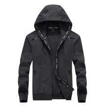 Large size 9XL 2018 Mens Hoodies Sweatshirt Cotton Hoodie Jackets Tracksuit Men Autumn Spring Clthing Plus Size 8XL