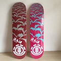"2014  Brand Mixed deck made by canadian maple For new sk8ers Girl  with size 7.5""  Pattern Skate Decks"