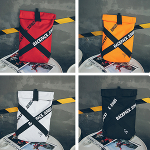 Image 5 - Couple bag Unisex Cool Backpacks Personality Fashion Oxford Cloth Bag Casual Art Unique Big Backpack Latest Popular Hip Hop Bag