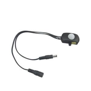 Image 5 - 120 grad Mini Außen Einstellbare Auto PIR Infrarot Motion Sensor Detektor Für LED Licht Streifen Schalter beleuchtung DC 5  24V 5A