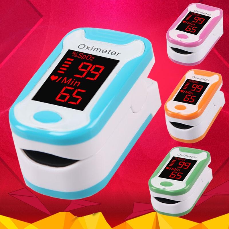 Pulsoximeter Oximetro De Pulso De Dedo Led-anzeige Finger Oximeter Saturometro Pulsioximetro 4 Farbe Auswahlmaterialien