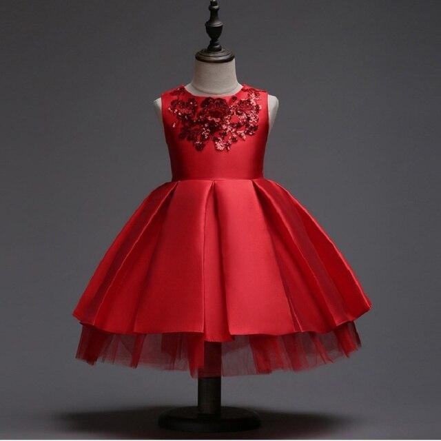 Girls Dress Baby Sleeveless Princesse Dresses Kids Clothes Christmas ...