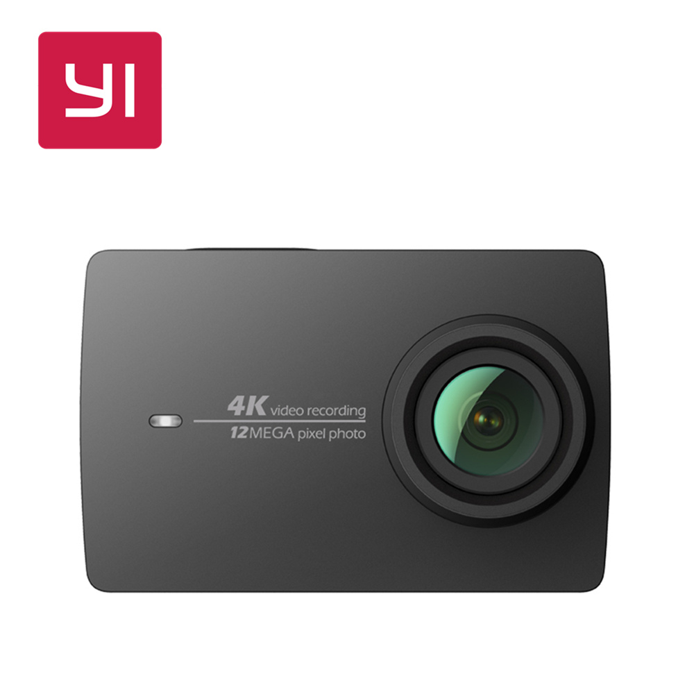 YI 4K Action Camera Black 2.19LCD Screen 155 Degree EIS Wifi International Edition Ambarella A9SE75 12MP CMOS 5GHz Wi-Fi yi 4k action camera black 2 19lcd screen 155 degree eis wifi international edition ambarella a9se75 12mp cmos 5ghz wi fi