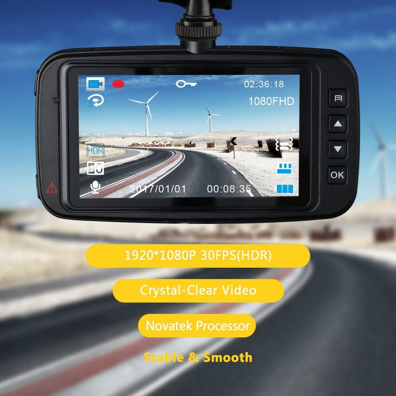 1080p DVR Car Recorder Dash Camera Video Recorder G Sensor Motion Detect WDR Driving Parking Camera Car Dash Cam Night Vision findfine 1 5 inch screen ltps tft lcd 4x digital car driving camera video recorder dvr night g sensor sos m867