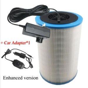 Image 3 - Домашний очиститель воздуха, HEPA фильтр для удаления пыли PM2.5, формальдегид, TVOC, дезодорирующий очиститель воздуха для дома и автомобиля