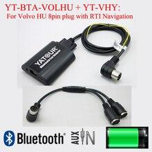 Yatour Bluetooth auto stereo MP3 hände frei adapter für Volvo HU mit RTI navigation