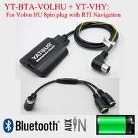 Yatour Bluetooth car stereo MP3 hands free adattatore per Volvo HU con navigazione RTI