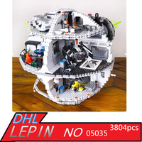 Lepin 05063 4016pcs Genuine New Star Force Waken UCS Death Star Educational Building Blocks Bricks Toys