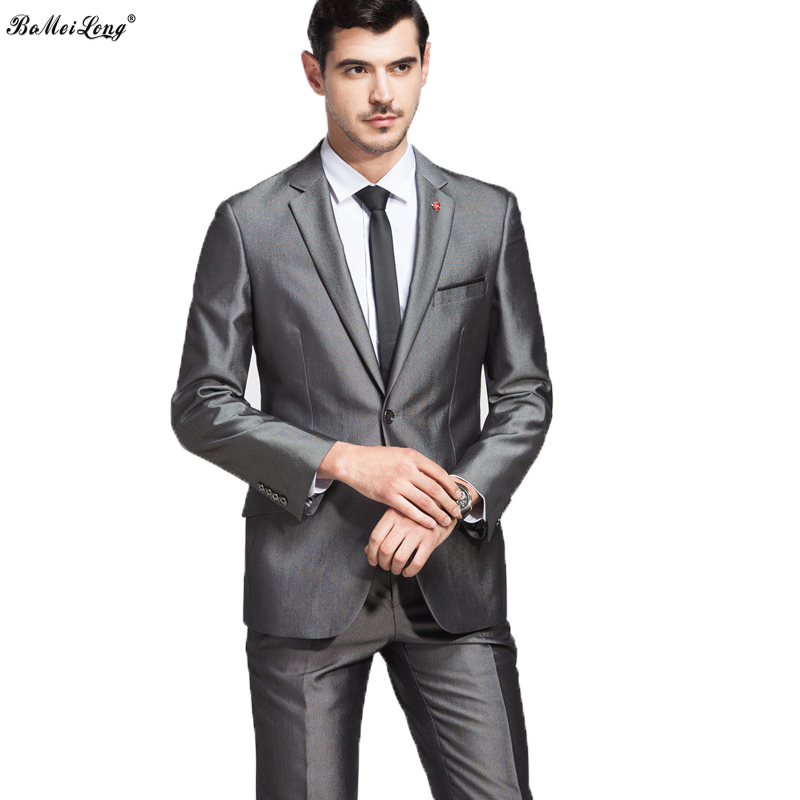Popular Grey Mens Blazer-Buy Cheap Grey Mens Blazer lots from ...