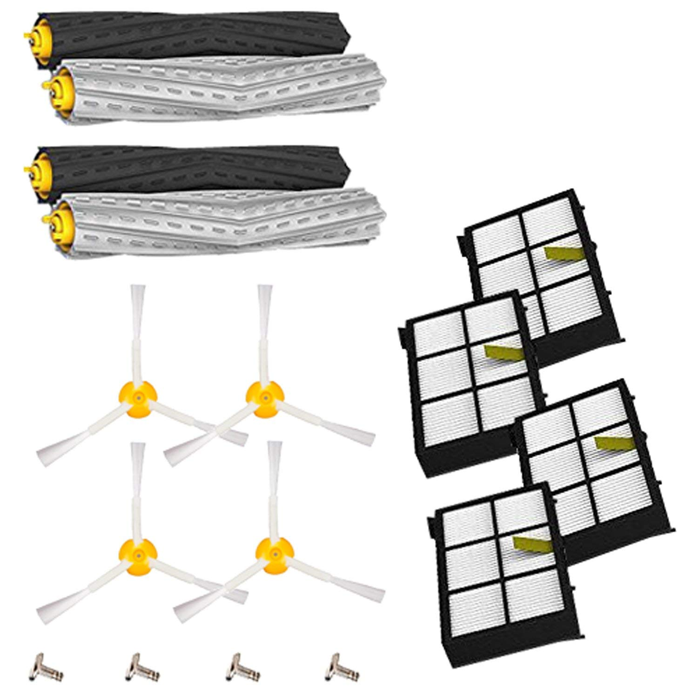 12 piezas Replenishement Kit para iRobot Roomba 800 900 Series 805 860 870 871 880 890 960 980 aspirador accesorios