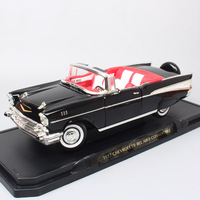1/18 scale Large classic 1957 CHEVROLET BEL AIR Convertible chevy Diecasts wagon Toys Vehicles Muscle cars models Road Signature