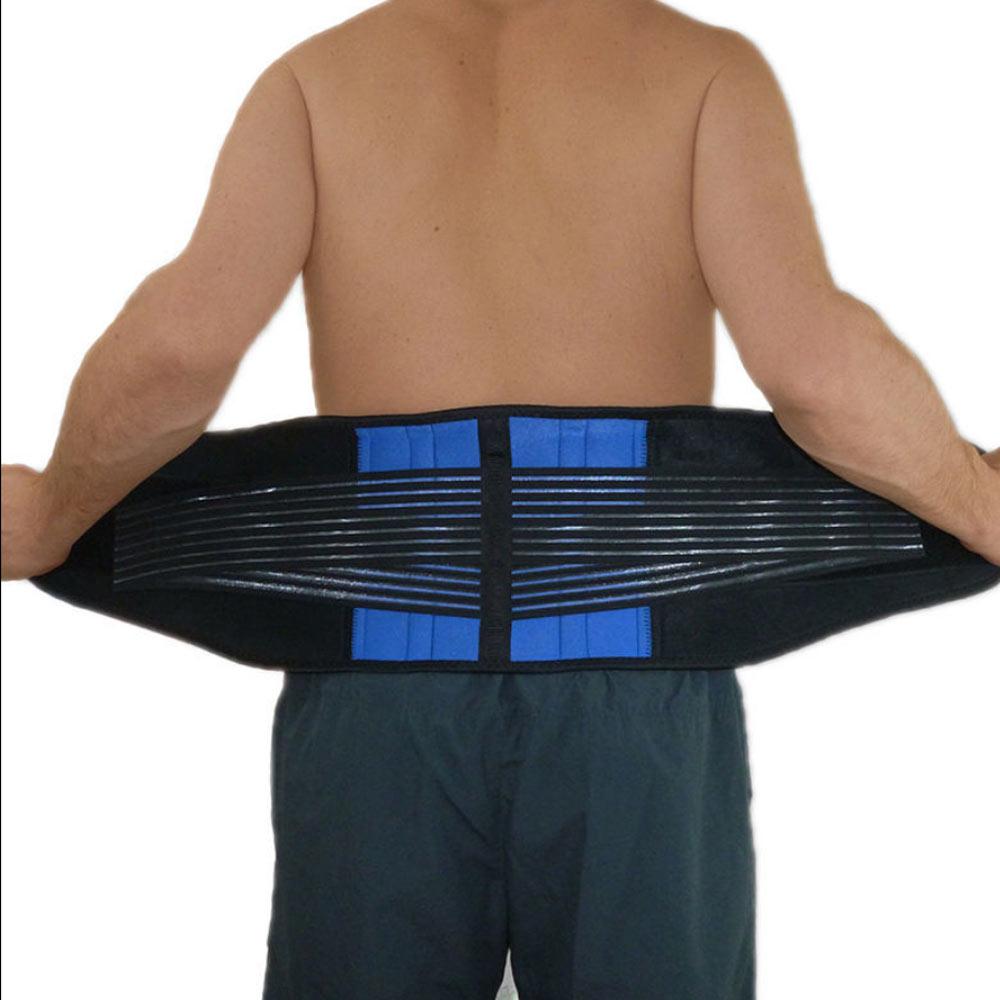 Women Men Back Support Belt Elastic Back Belt Support Back Brace Lumbar Belt Waist Corset Pain Large Size XXL XXXL XXXXL Y010 men s stripe u pouch design elastic waist sexy t back