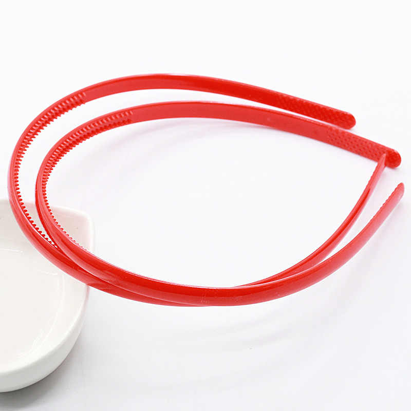 Cukierki kolor pałąk głowa klamra szeroki przekrój pałąk 1 sztuka słodka sprzedaż 0.8CM mycie twarzy plastikowa wersja koreańska