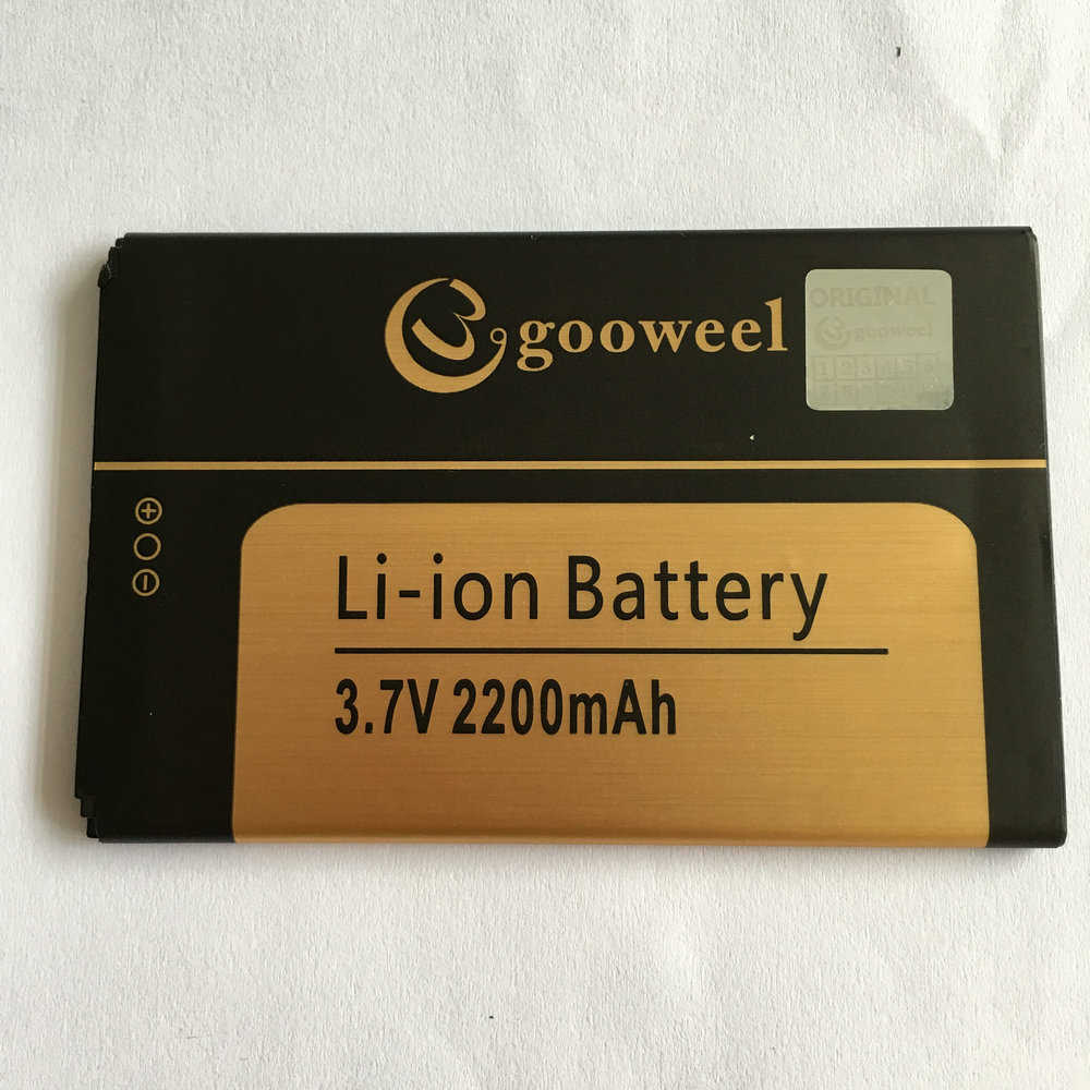 Battery For Gooweel M5 pro XGODY X15S 5.0inch Mobile phone 2200mA Li-ion Batteries Bateria 100% Tested In stock