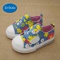 2016 Fashion Girls Shoes Print Canvas Shoes Для Девочек Случайные Дети Shoes Высокое Качество Дети Кроссовки