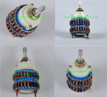 1pc  4Pole 24 Step DALE Attenuator Volume Pot Stereo Potentiometer 250KY Audio Tube Amplifier