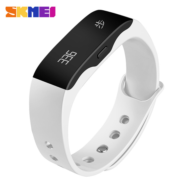 SKMEI Smart Wristband L28T LED watch Waterproof Fitness Sleep Tracker Alarm pedometer calorie Bluetooth 4.0 Android 4.3 IOS 7.0