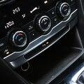 Consola central Ar condicionado knob ajusta acessórios moldura decorativa capa guarnição para Mazda 6 ATENZA