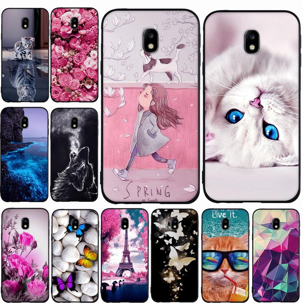 Galleria fotografica For Samsung Galaxy J3 J7 J5 2017 Case Cover Silicone Case for Samsung J5 J7 J3 2017 Case Cover for Samsung J3 J5 Pro 2017 Cases