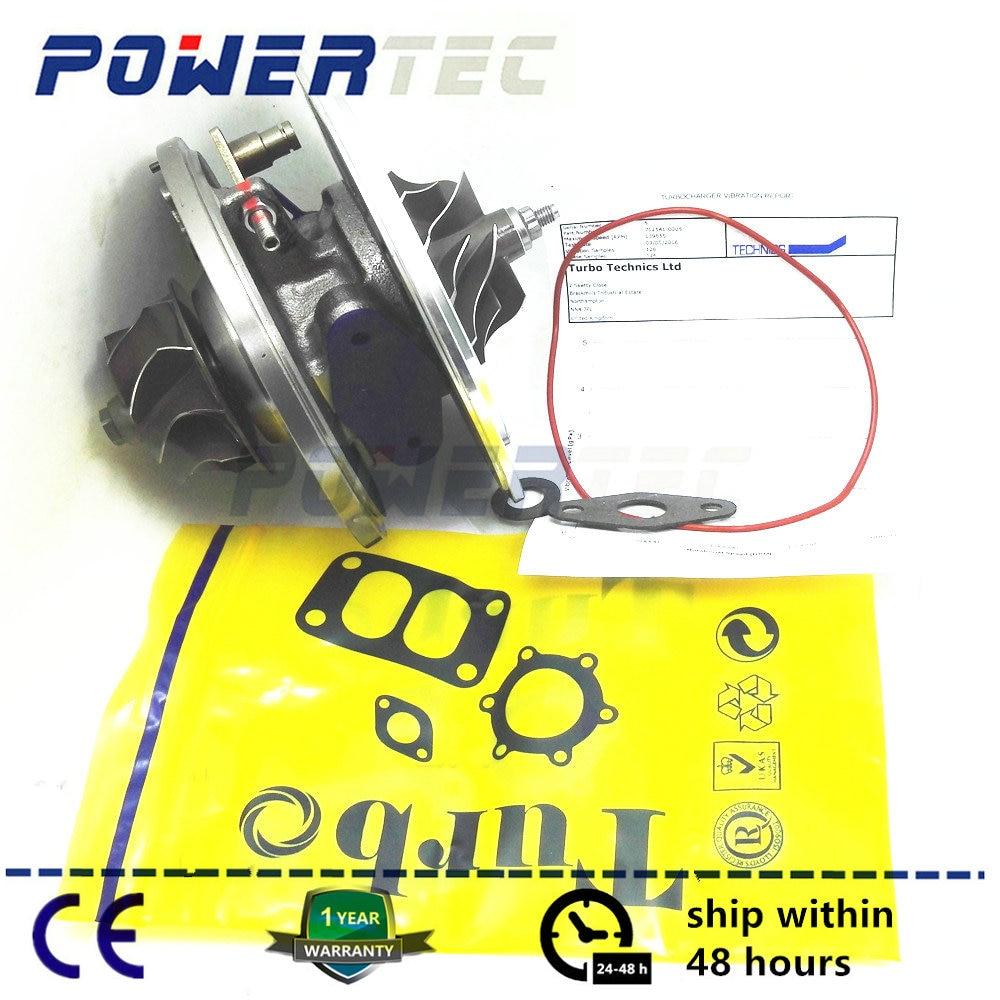 Turbo core cartridge GT2256V turbocharger CHRA For Jeep Grand Cherokee 2.7 CRD OM665WJ 170HP 2000- 715568 A6650960099 rambach jeep grand cherokee 2 7 crd 163 л с
