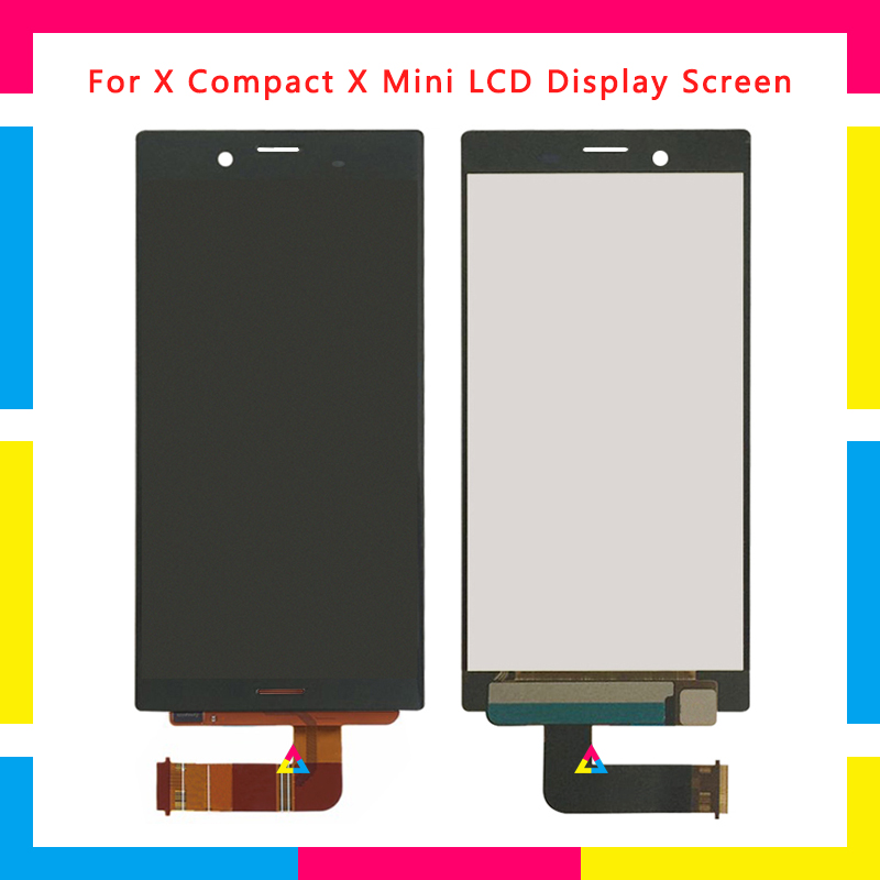LCD Display Screen With Touch Screen Digitizer Assembly For Sony Xperia X Compact X Mini F5321 Replacement LCD Display Screen With Touch Screen Digitizer Assembly For Sony Xperia X Compact X Mini F5321 Replacement