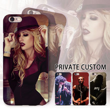 Custom Smartphone Cases For apple iPhone 7plus 7 6plus 6s 6 5s 5 se DIY Cover Photo Customized Case with Steel film Glass