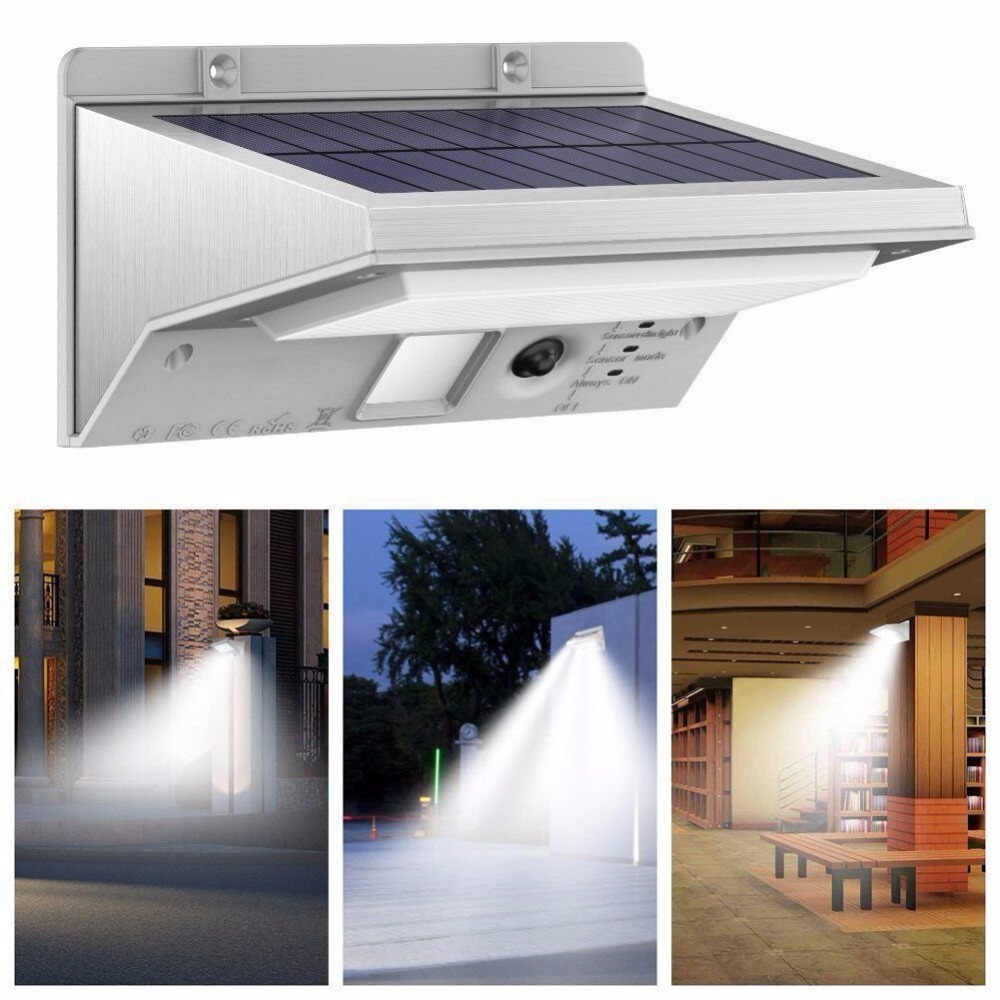 ZjRight 21 led Solar Lights Outdoor Motion Sensor Solar panel Waterproof Energy saving Lamps Garden balcony Wall Street lighting все цены