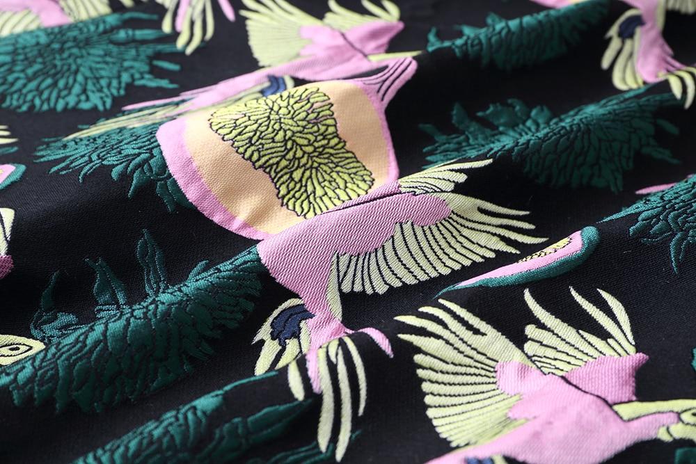 Les Taille 2019 X Manteau Hiver Survêtement As Rétro La longue Impression Montant Col Femmes Tranchée Jacquard Picture Nouveau breasted Double Plus Automne Pour HZxrwnHvqp