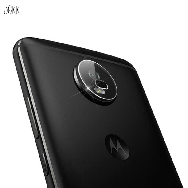 JGKK 2PCS For Motorola Moto G6 Play G6Plus G6 Plus Tempered Glass Screen Protector Back Camera Lens Rear Soft Film Shield Guard