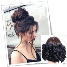 HidolA 1pcs Synthetic Hair Big Bun Chignon Two Plastic Comb Clips in chignon hairpiece cheveux hair
