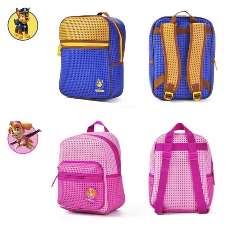 Paw Patrol EVA Polyester fiber Kids Shoulder bag Children Schoolbag toys  girl Boy s Backpack High Quality Pack gift-in Plush Backpacks from Toys    Hobbies ... 783f8af4a6958